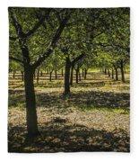 Orchard In West Michigan No. 279 Fleece Blanket