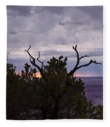 Orchestrating A Sunset At The Grand Canyon Fleece Blanket