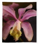 Orchid 133 Fleece Blanket