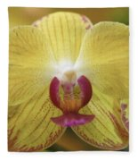 Orchid 141 Fleece Blanket