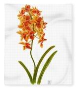 Orchid 2 Fleece Blanket