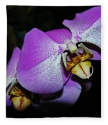 Orchid Beauty Fleece Blanket