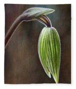 Orchid Bud Fleece Blanket
