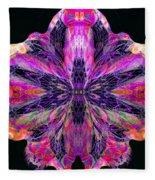 Orchid Digi Fleece Blanket