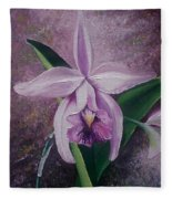 Orchid Lalia Fleece Blanket