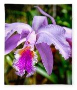 Orchid Life Fleece Blanket