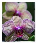 Orchid One Fleece Blanket