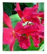 Orchid Series 3 Fleece Blanket