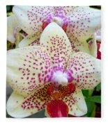 Orchid Series 5 Fleece Blanket