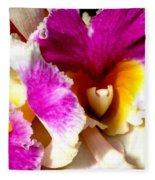 Orchid Series 6 Fleece Blanket