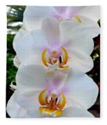 Orchid Series 7 Fleece Blanket