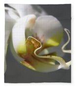 Orchid's Face Fleece Blanket