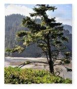 Oregon - Heceta  Fleece Blanket