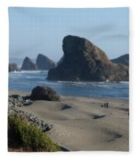 Oregon Coast 1 Fleece Blanket