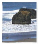 Oregon Coast Panorama Fleece Blanket