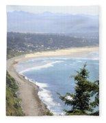 Oregon Coast View Fleece Blanket