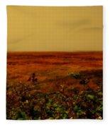 Oregon Coastline Ll Fleece Blanket