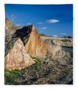 Oregon Trail 1 Fleece Blanket