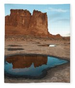 Organ Formation, Arches National Park Fleece Blanket
