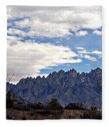 Organ Mountain Landscape Fleece Blanket