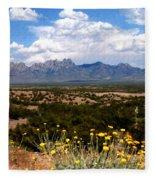 Organ Mountain Splendor Fleece Blanket