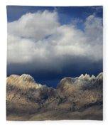Organ Mountains New Mexico Fleece Blanket