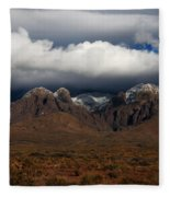 Organ Mountains New Mexico Fleece Blanket