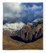 Organ Mountains Rugged Beauty Fleece Blanket