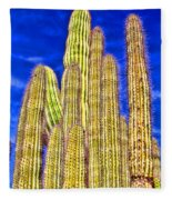 Organ Pipe Cactus Arizona By Diana Sainz Fleece Blanket