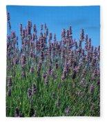 Organic Lavender Fleece Blanket