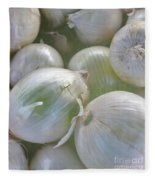 Organic Onions Fleece Blanket
