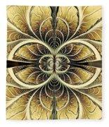 Organic Texture Fleece Blanket