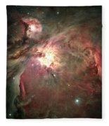 Space Hollywood - Orion Nebula Fleece Blanket