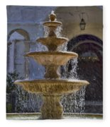 Ormond Water Fountain Fleece Blanket