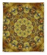 Ornamental 1 Version 2 Medallion Fleece Blanket