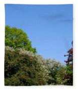 Ornamental Skyline Fleece Blanket