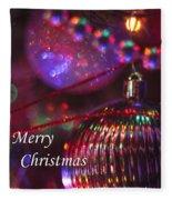 Ornaments-2054-merrychristmas Fleece Blanket