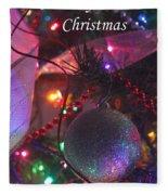 Ornaments-2143-merrychristmas Fleece Blanket