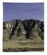 Orovada Sawtooth Fleece Blanket