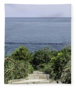 Italian Landscapes - Ortona Italy Fleece Blanket