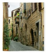 Orvieto Lane Fleece Blanket