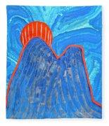 Os Dois Irmaos Original Painting Sold Fleece Blanket