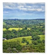 Osage County Lookout Fleece Blanket