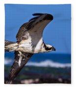 Osprey Bringing Home The Bacon Fleece Blanket
