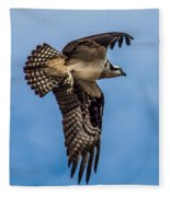 Osprey Flying Away Fleece Blanket
