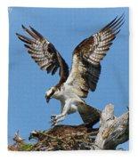 Osprey Mating Fleece Blanket