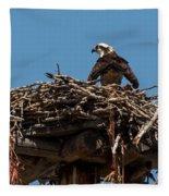 Osprey Nest Fleece Blanket