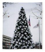 Osu Tree Fleece Blanket