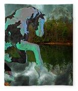 Otter Lake Phantom Fleece Blanket