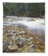 Otter Rocks - White Mountains New Hampshire Usa Fleece Blanket